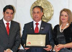 como Deputado Rodriguese e Heloísa (Foto <br>Sebastião Jacinto Jr.)
