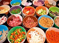 Todas as partes dos alimentos são aproveitadas - Foto: Shutterstock
