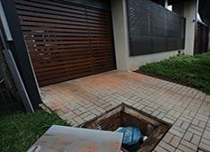Casa com sistema de reaproveitamento de água de chuva - Foto: Martim Garcia/MMA
