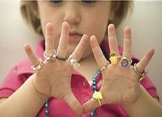 Resultado de imagem para bijuteria para criança